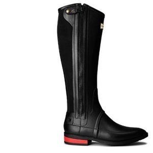 Hunter Field Duke of Wellington tall boots size 6